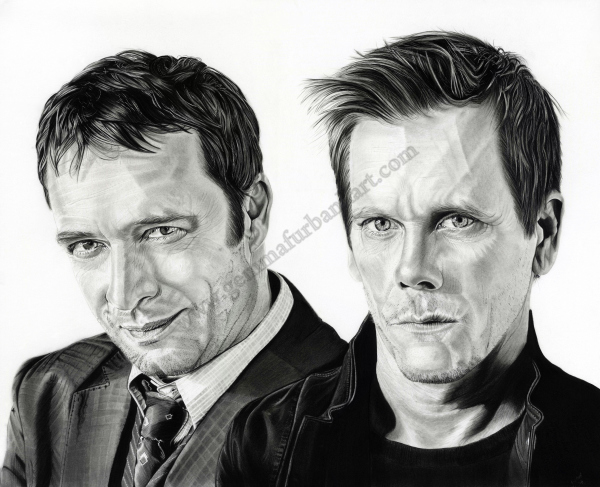 The Following - James Purefoy & Kevin Bacon £500