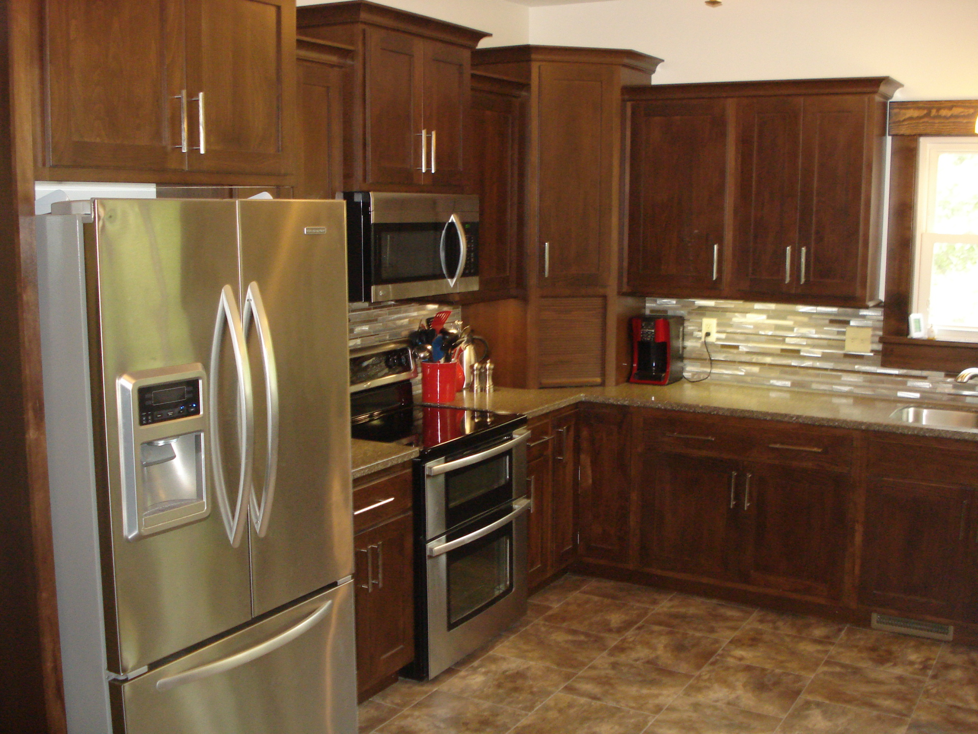 View of kitchen| Linn| Kansas| house for sale