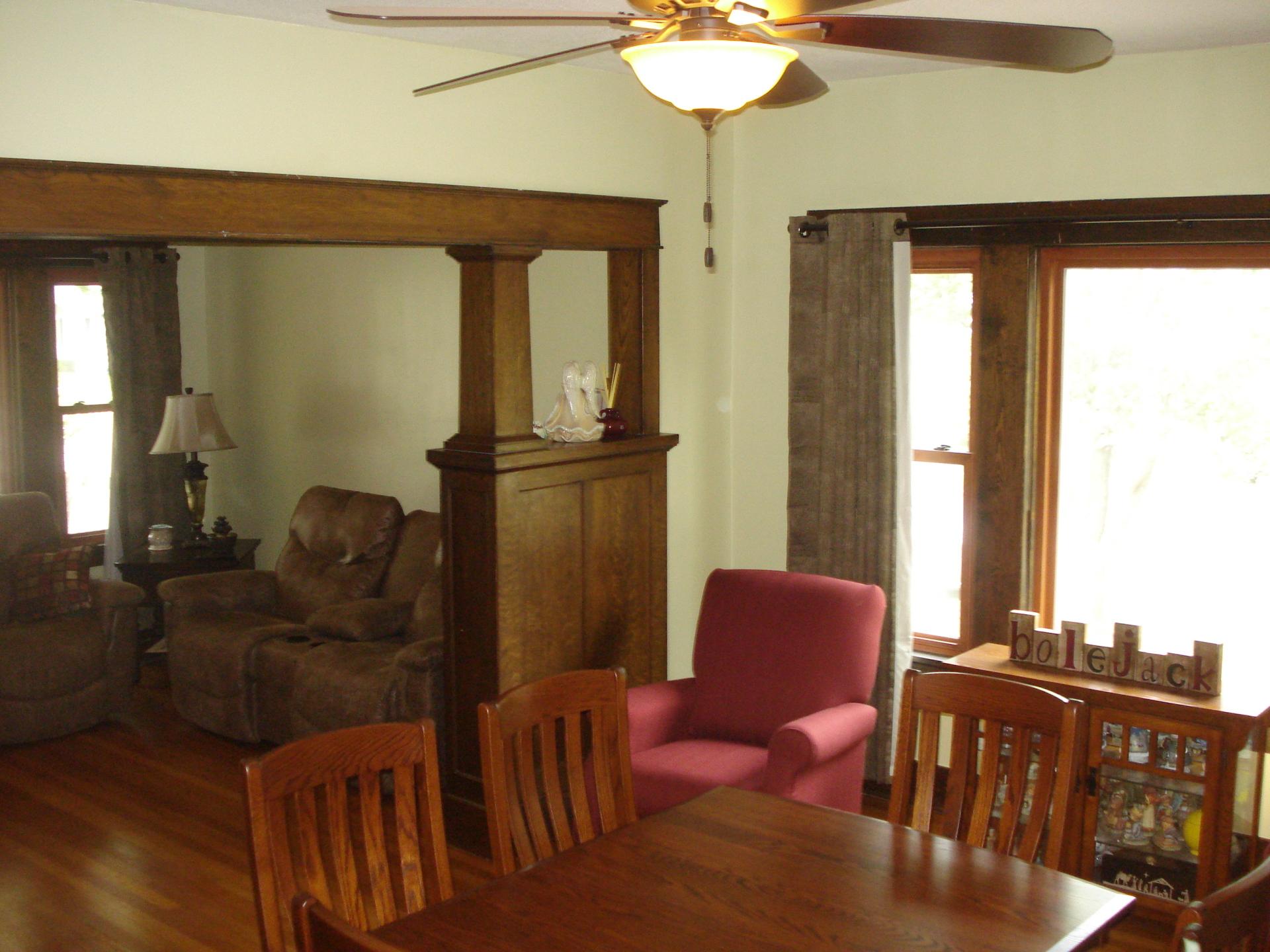 Living room  house for sale  Linn  Kansas