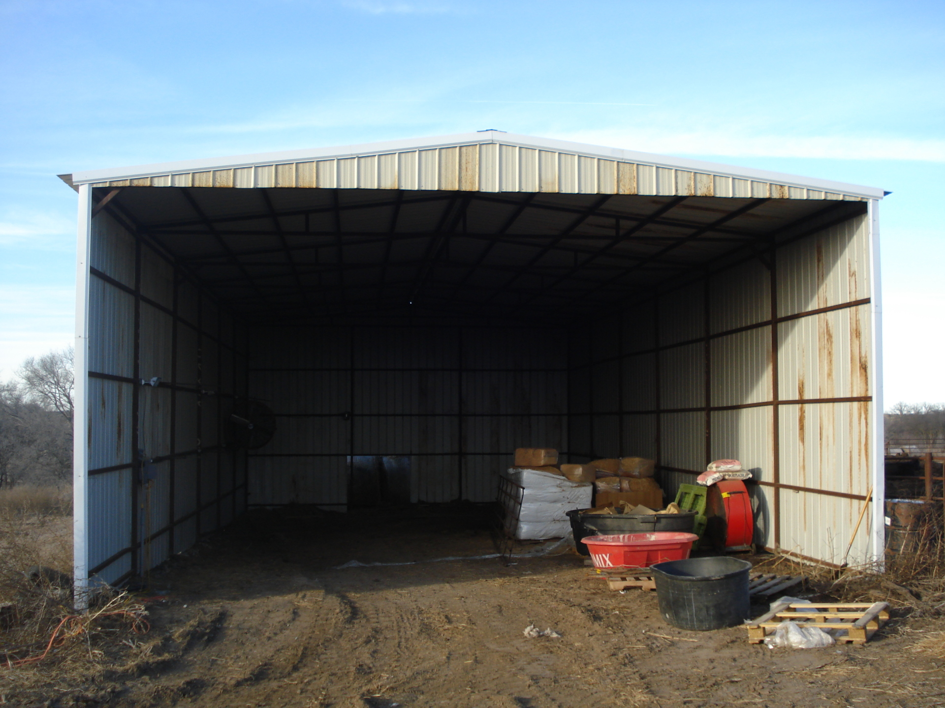 2nd open shed