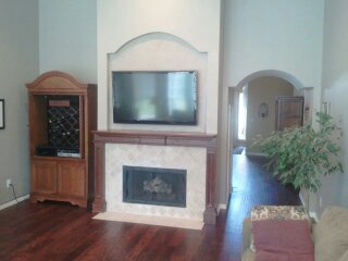 Fireplace Remodel-After