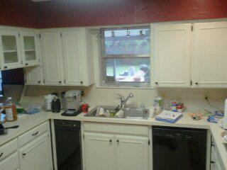 Kitchen Remodel- Before