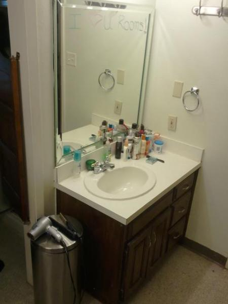 Bathroom- Before