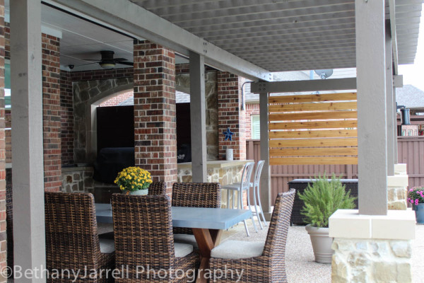 Pergola Covered Porch