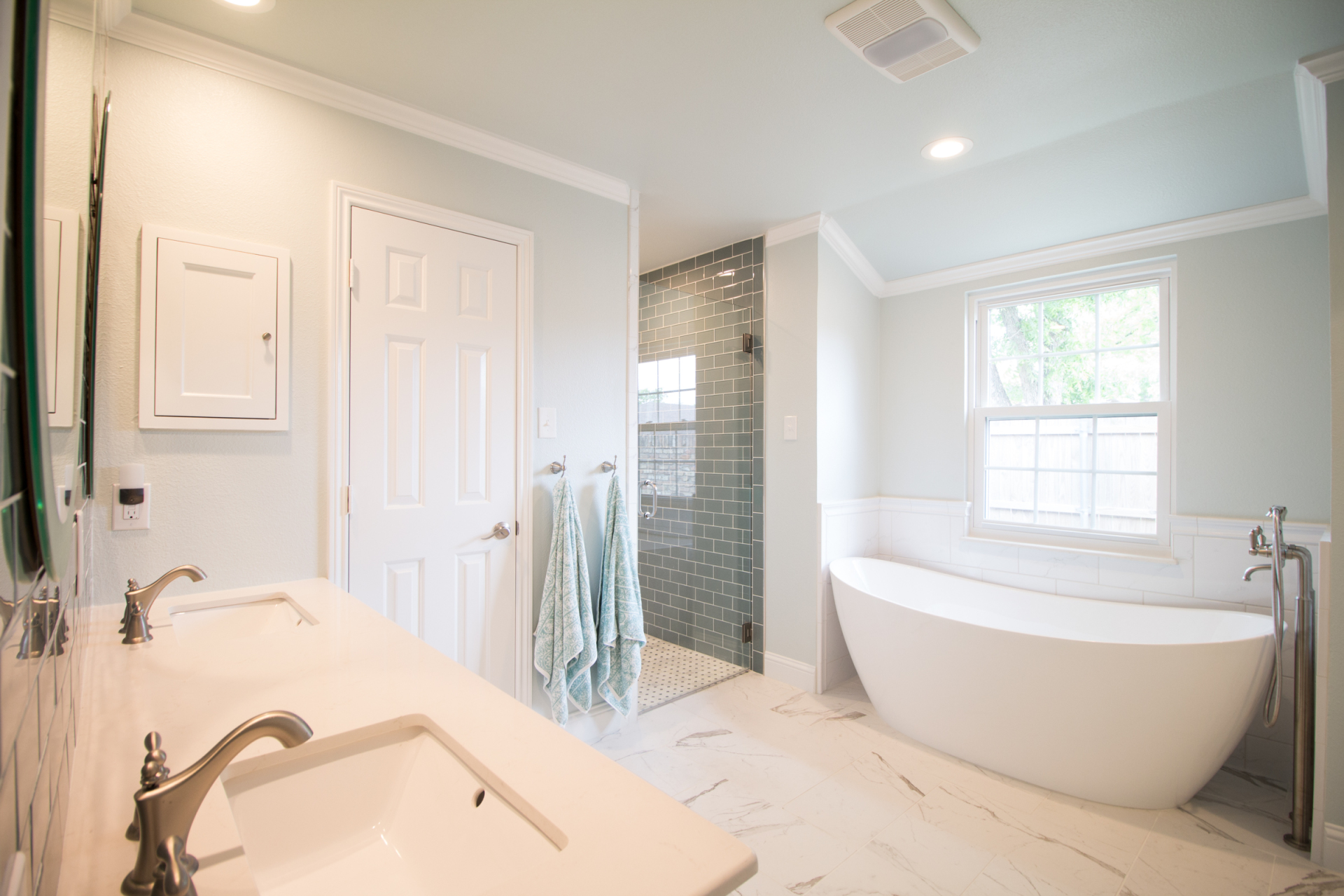 trendy bathroom remodel