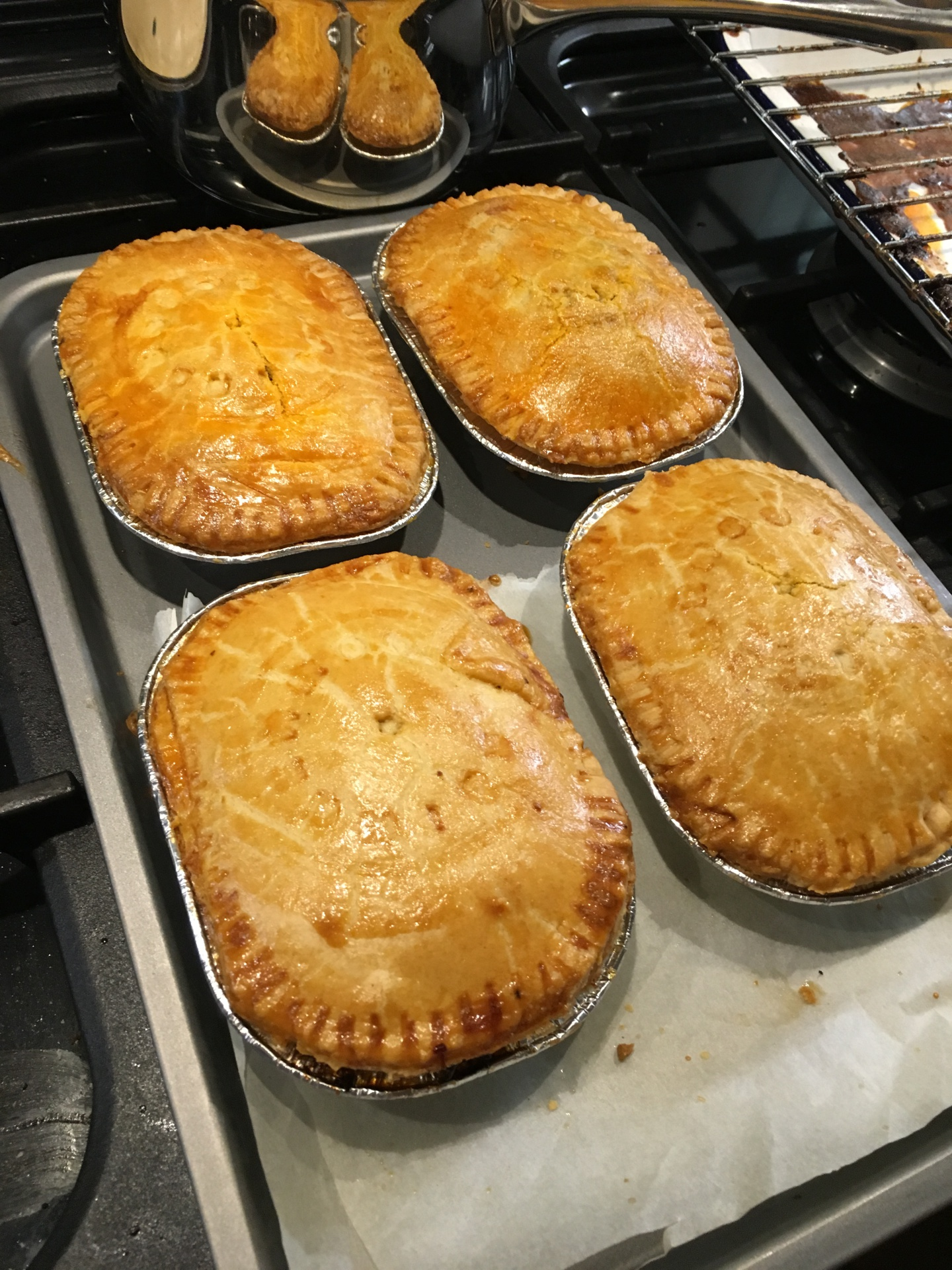 Golden and Crisp Pies