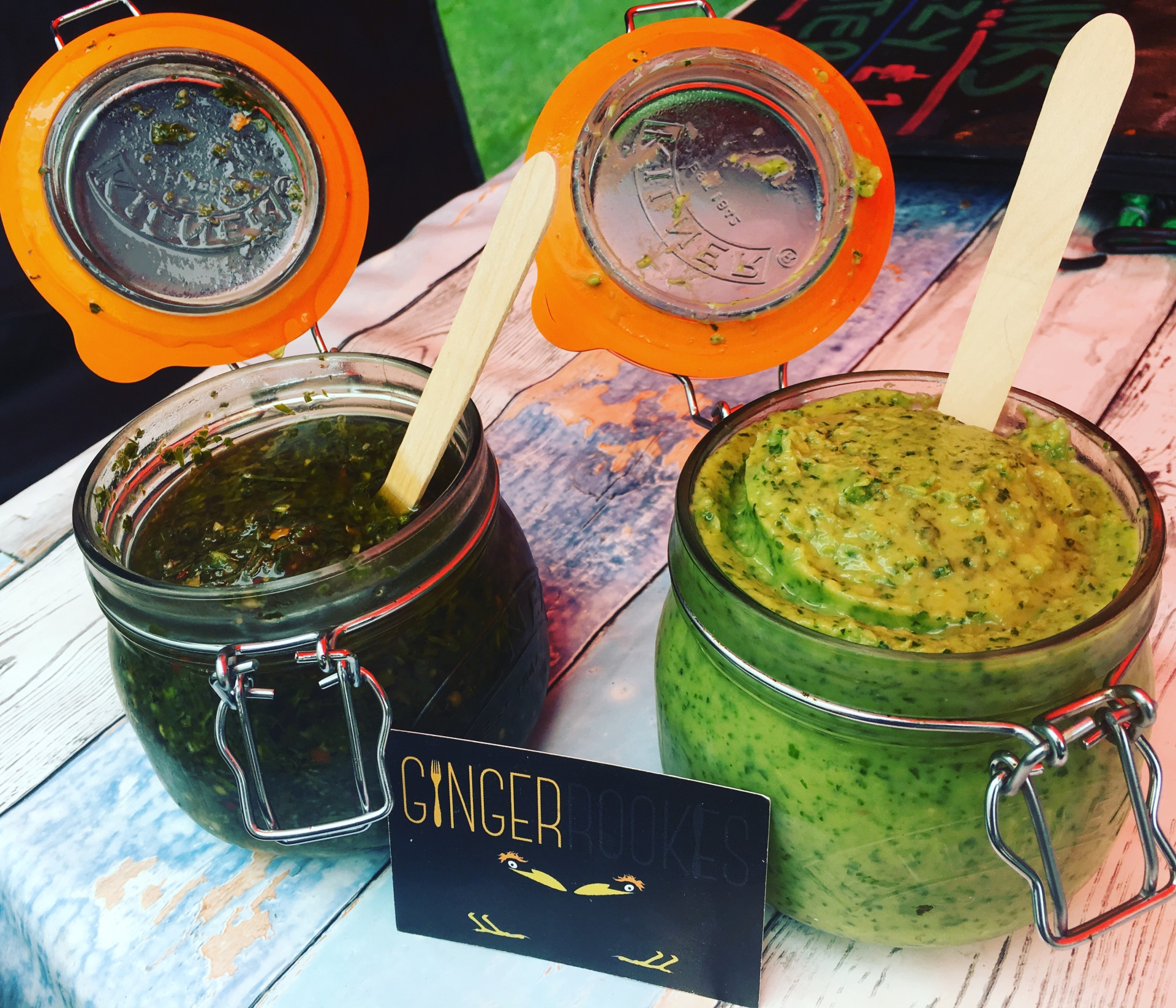 Chimichurri and Jalavocado looking the part