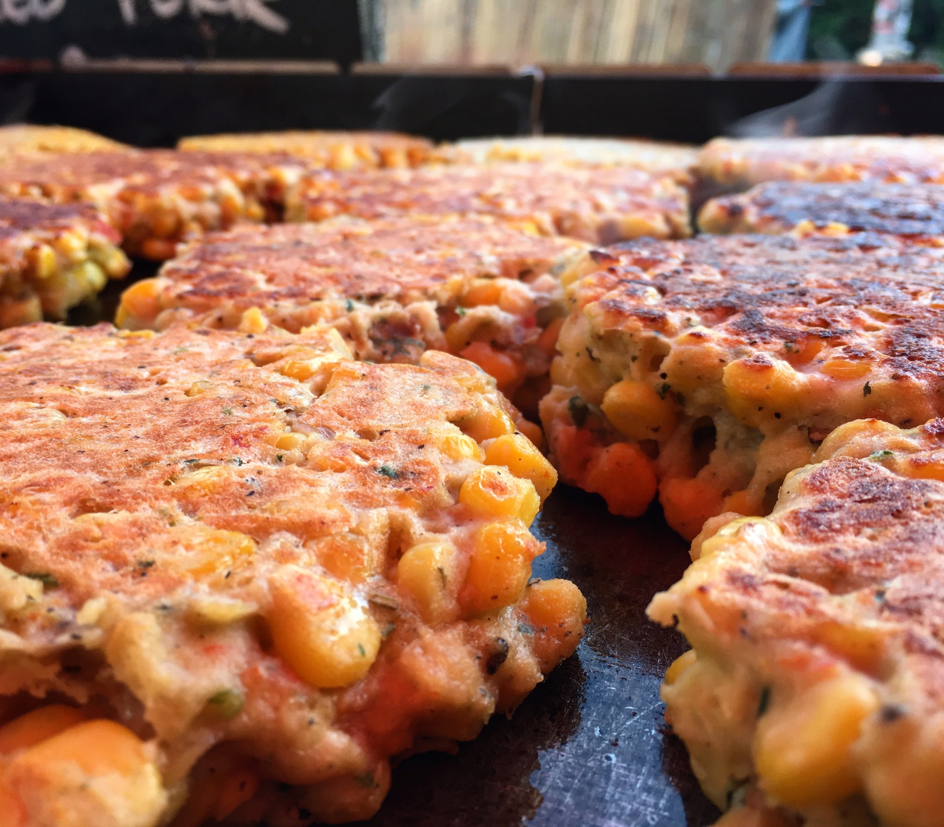 GingerRookes Corn Fritters...............