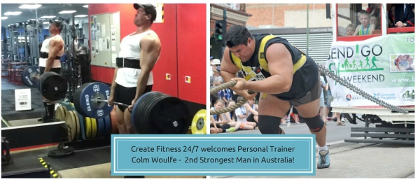 Create Fitness 24/7 - Colm Woulfe Personal Trainer