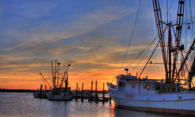 Clyde Phillips Seafood in Swansboro NOrth Carolina