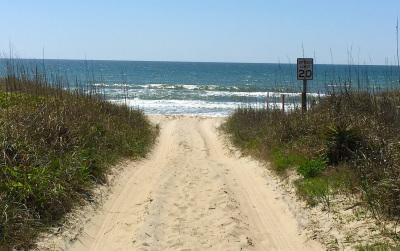 Emerald Isle NC beach access
