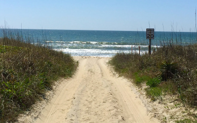 Emerald Isle NC beach access