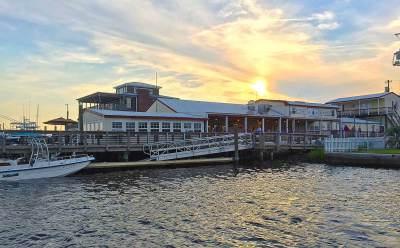 Icehouse Waterfront Restaurant in Swansboro NC