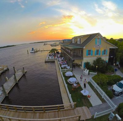 Saltwater Grill in downtown Swansboro NC