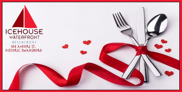 Icehouse Waterfront Restaurant Valentine's day ad