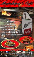 Moonshiners Cafe poster
