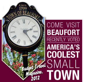 Coolest small Town in America, Beaufort NC
