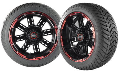 Custom Golf Cart Wheels and Rims