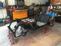 golf cart frame, kalt life golfcart service