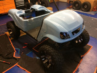 kalt life custom golf cart