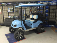 tarheels golf cart, custom golf cart