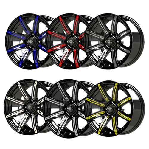 Golf Cart Rims and Wheels