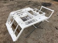 golf cart frame with primer coat