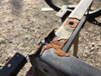 golf cart rust repair