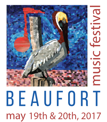 Beaufort Music Festival logo for 2017