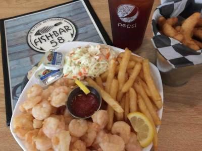 Shrimp and Flounder Plate