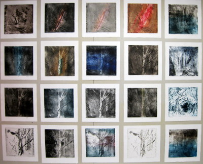Copper Etching Prints, 2007.