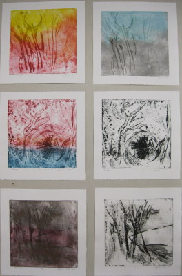 Copper Etchings (detail), 2007.