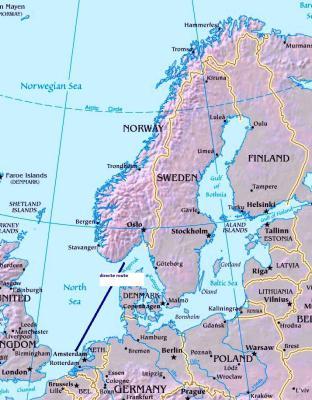 Training: vier weken Denemarken en Zweden