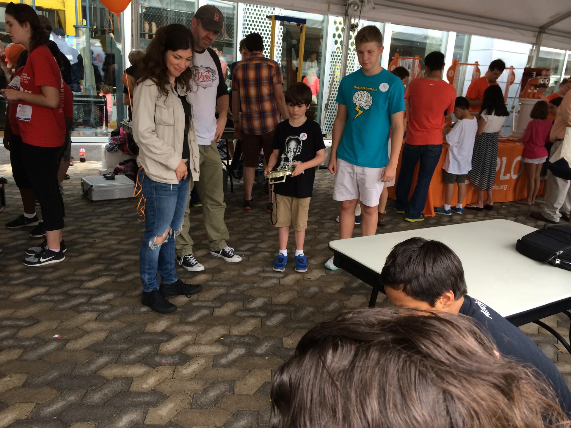 Children's Museum Tinker Tent