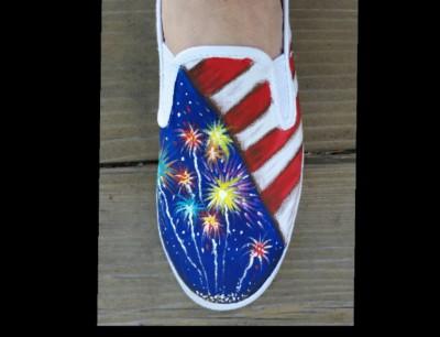 Canvas shoe painting classes, Yuba City Art, Yuba Sutter Painting, Yuba City Painting classes, Shoe Painting classes