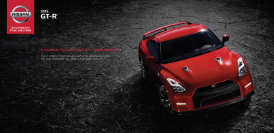 2015 Nissan GT-R Cover