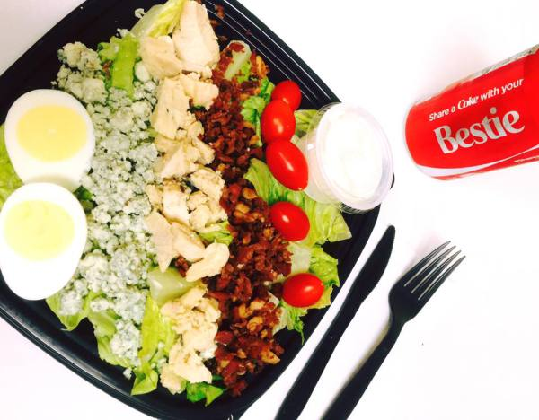 Cobb Salad with Ranch Dressing