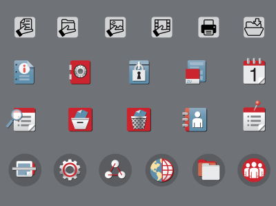Website Navigation Icons