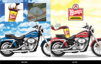 Wendy's Harley Retouch