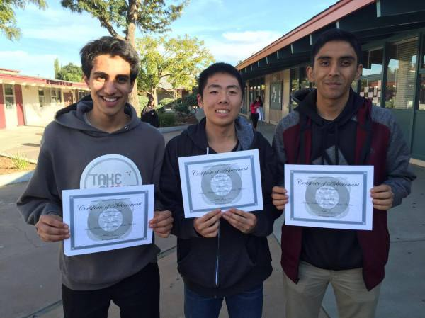 AoCMM 2015 Beta Prize Winners