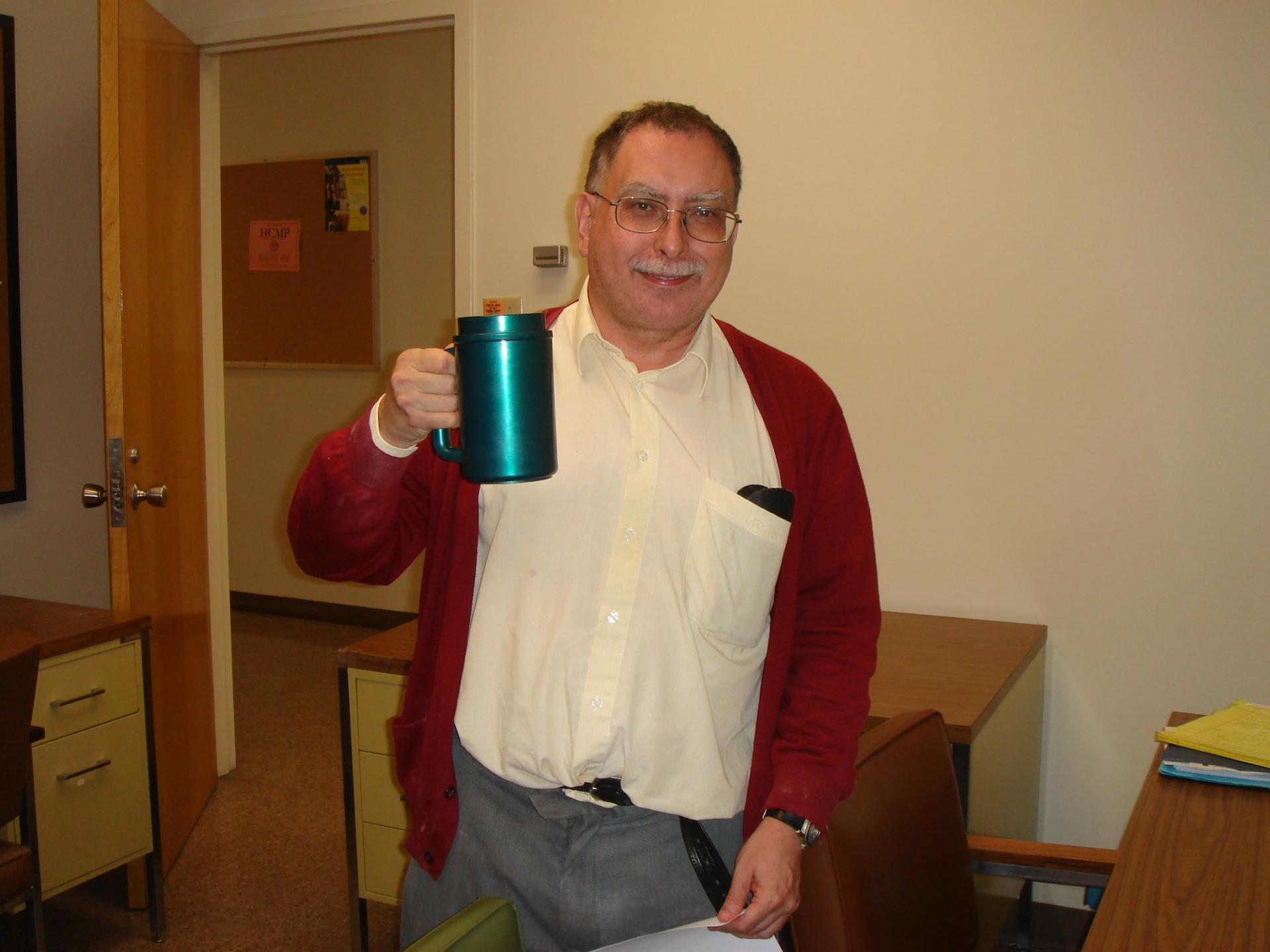 Professor Rafael de la Llave from Georgia Tech