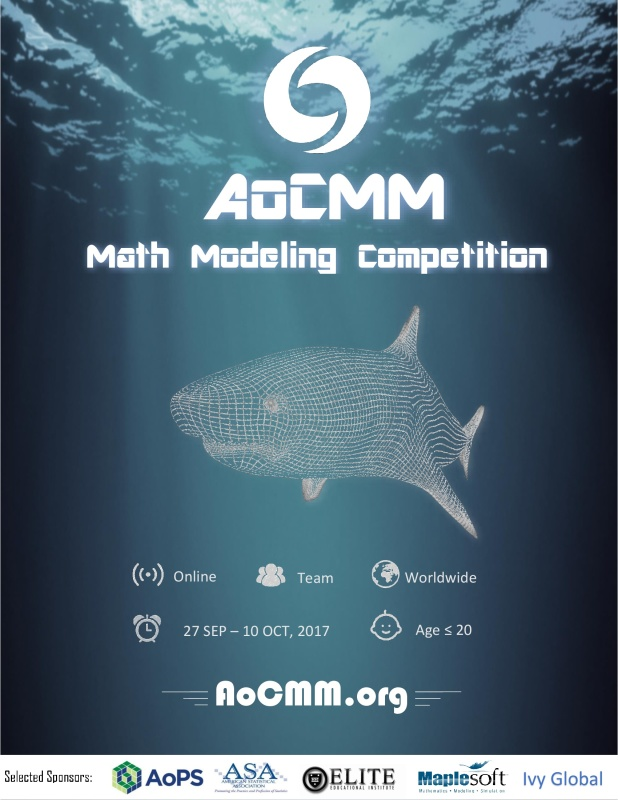 AoCMM Math Modeling Competition 2017 Poster