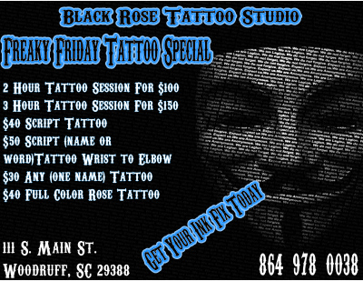 Freaky Friday Tattoo Special