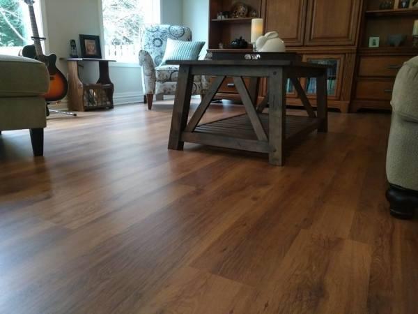 Home Renovation - Vinyl Plank Flooring