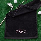 Golf Towels and Golf Balls Tees