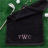 Golf Towels and Golf Balls Tees