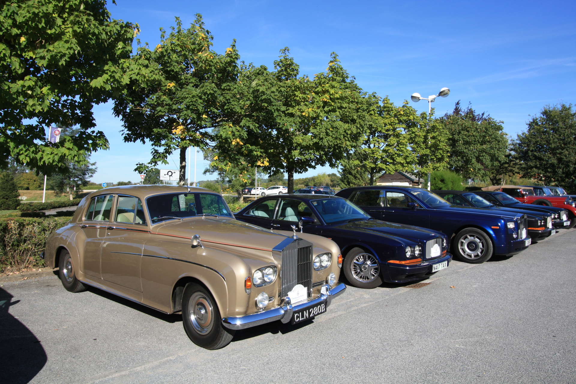 From RR Silver Clouds to RR Goodwood Phantoms