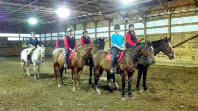 Horse Riding Lesson, CT