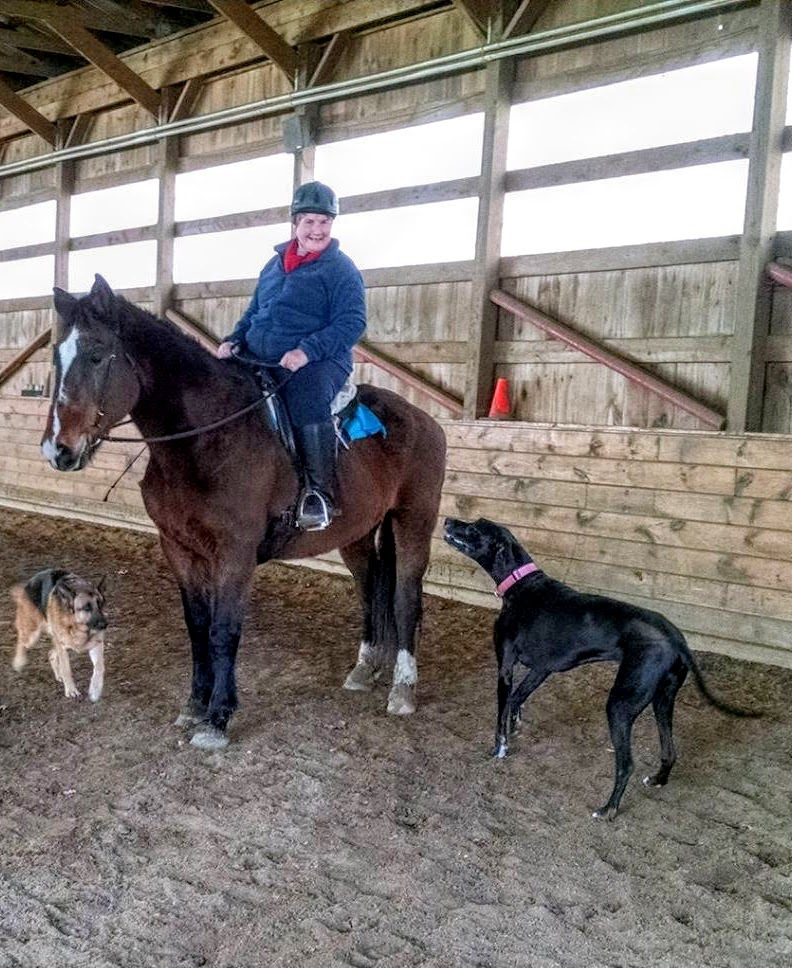 Horse Riding Lesson near Montville, CT