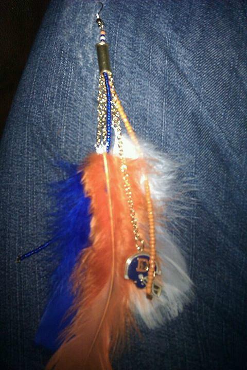 Denver Broncos Earrings
